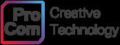 procom creative technology logo